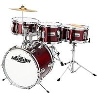 XDrum Junior Kinder Schlagzeug inkl. Schule + DVD