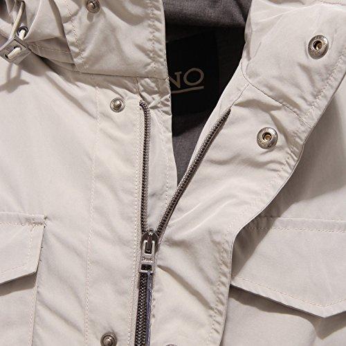 2814Q giaccone giubbotto uomo ghiaccio HERNO jacket men Ghiaccio