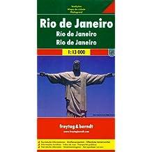 Freytag Berndt Stadtpläne, Rio de Janeiro - Maßstab 1:13 000