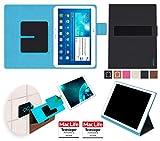 reboon Samsung Galaxy Tab 2 10.1 Hülle Tasche Cover Case Bumper | in Schwarz | Testsieger