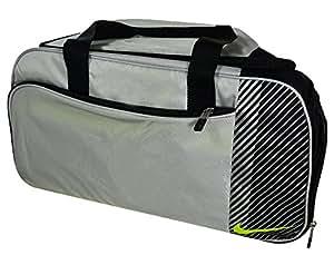 Nike Sport II - Golf Duffle Bag Color: Silver/Volt/Black