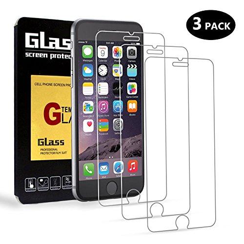 AimeCerises [3-Pack] Film Protection en Verre Trempé écran Protecteur Vitre Pour iPhone 6/6s[4.7 pouces]Ultra Résistant Dureté 9H Glass Screen Protector