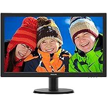 "Philips 243V5QHAB/01 - Monitor de 24"" (MVA, HDMI, altavoces), color negro"