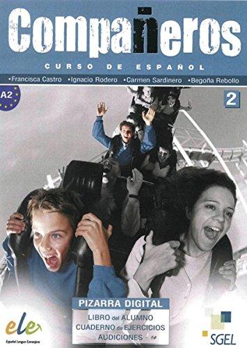 Compañeros 2: Curso de español / DVD-ROM mit Materialien für PC und Whiteboard