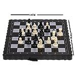 #3: Shree-Hari Pocket Magnetic Folding Plastic Chess Set Chess Board