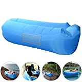 Inflatable Lounger, AngLink Portable Air Sofa...