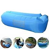 Aufblasbares Sofa, AngLink Wasserdichtes Air Lounger mit 2 Lufteinlass Laybag Outdoor-Sofa Luftsofa...