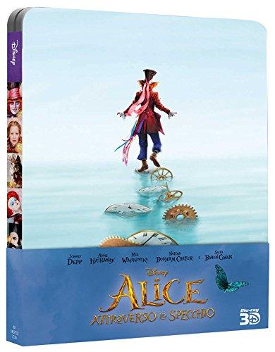 Alice Attraverso Lo Specchio (3D) (Ltd Steelbook) (Blu-Ray+Blu-Ray 3D) [Italia] [Blu-ray] 517OwOwFZ3L