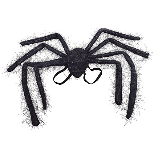 Spider Kind Queen Kostüm - Bristol Novelty ba945 Spider Wing, schwarz, one size