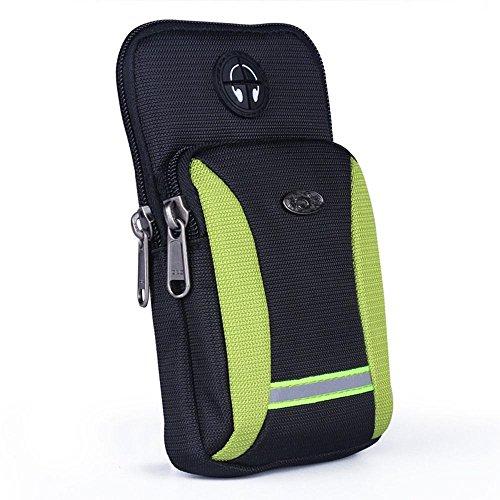 BUSL Wandern Hüfttaschen Herren-Outdoor-Sport-Handy-Paket Multifunktions-Arm-Tasche Schulter diagonal Paket Taschen laufen c