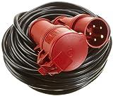 Unitec 40582 CEE - Raccordo prolunga a 5 poli, cavo in plastica H05VV - F 5G, 1,5 mm²
