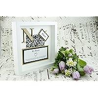 Gift for Nana - Wall Frame Keepsake Present - Mothers Day/Birthday/Christmas/Grandparent