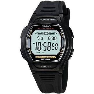 CASIO 19883 LW-201-1AV – Reloj Señora cuarzo caucho