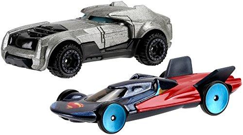 Hot Wheels DC Batman VS Spiderman Jouet (Lot de 2)