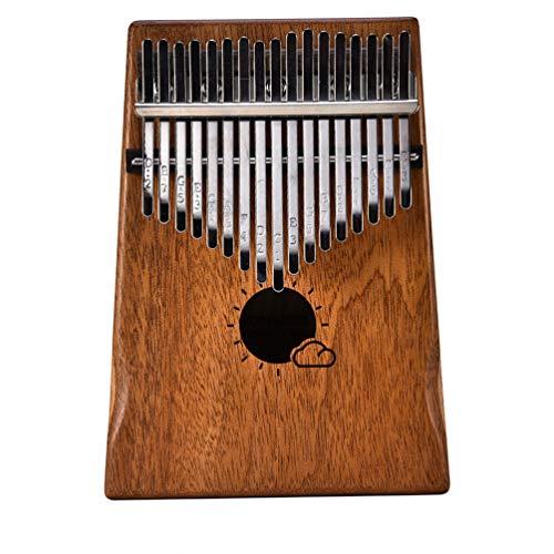 TIMLand Kalimba Daumenklavier, Fingerpiano, Leicht zu Verwenden, Mahagoni Holz für Musik, bis Unterrichtseinrichtungen für Anfänger zu Erleuchten -