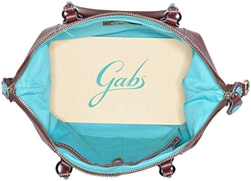 GABS - G3, Borsa a mano Donna Rosso (Red Wine)