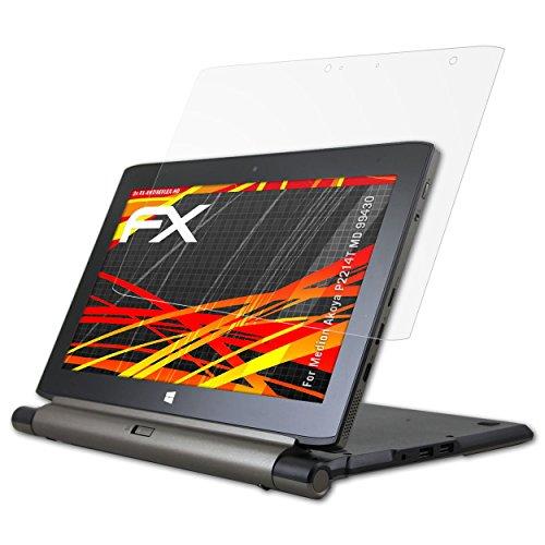 atFolix Schutzfolie kompatibel mit Medion Akoya P2214T MD 99430 Bildschirmschutzfolie, HD-Entspiegelung FX Folie (2X)