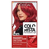 L'Oreal Colorista Bright Red Permanent Hair Dye Gel Long-Lasting Permanent Hair Colour