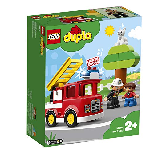 LEGO 10901 Duplo Town Fire Truck Building Blocks Best Price and Cheapest