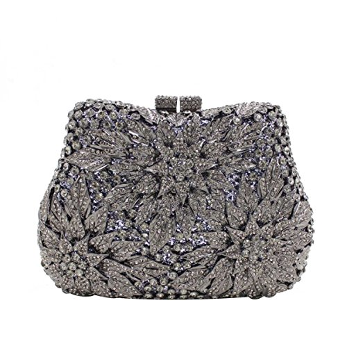 Bag Borsa Da Sera High-end Cristallo Di Diamante Delle Donne OneColor