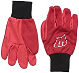 Forever Collectibles NCAA College farbigen Palm Utility Handschuh, unisex, Wisconsin Badgers