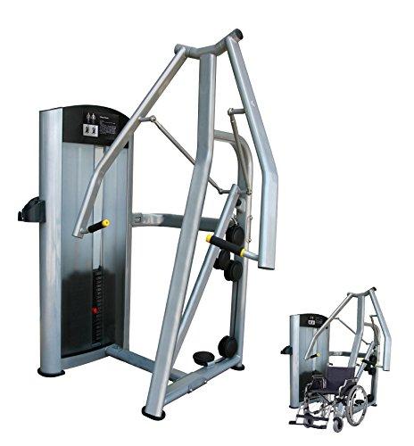 Maquina press vertical (adaptada silla ruedas), profesional para pecho