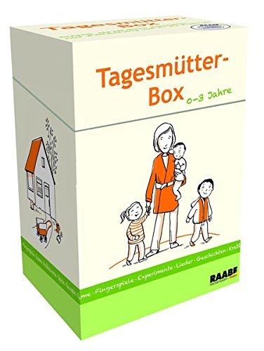 Tagesmütter-Box: Direkt einsetzbare Materialien zur Förderung von 0- bis 3-Jährigen