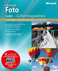 Microsoft Foto Suite Geburtstagsedition