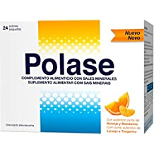 Polase, Complemento Alimenticio con Magnesio y Potasio, 24 sobres granulados