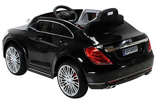 kinder elektroauto mercedes s600 lizenziert eva tyres. Black Bedroom Furniture Sets. Home Design Ideas