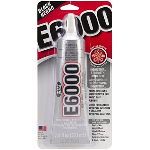 E6000 Multi-Purpose Adhesive-Black 2oz by Eclectic