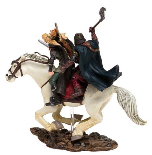 Lord of the Rings Armies of Middle Earth: Legolas & Gimli on Horseback Figure 1/24 Scale 3