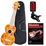 Classic Cantabile BeachBuddy Beachflower ukulele SET y compris l\'accordeur