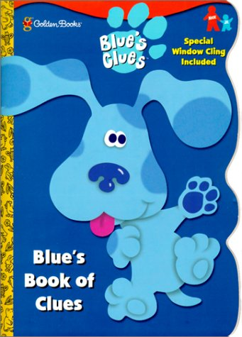 Blue's Book of Clues (Window Cling Book)