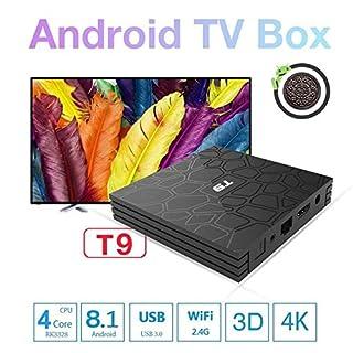 2018 Modell ABOX T9 HD Netzwerk-Set-Top-Box RK3328 Bluetooth 4G Speicher 32G Android 8.1 USB3.0 TV-Box Mit Aufnahme Und Media Player-Funktion