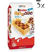 3x Kinder Ferrero panecioc 10x Kuchen mit Schokolade 30 gr kekse riegel cookies