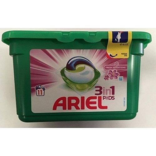 Detergente 3 En 1 Tabs Sensaciones Ariel 11 Unides