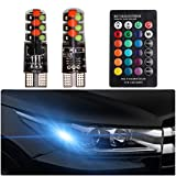 FEZZ Auto Atmosphäre Licht RGB LED T10 LED Strobe Fernbedienung 194 168 501 Strobe Lesen Kennenzeichen Innenraum Beleuchtung