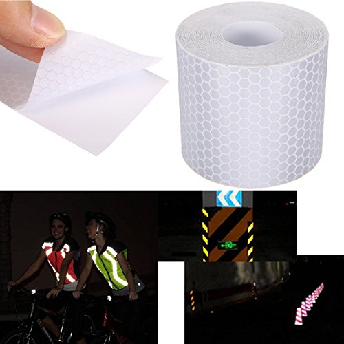 Back To Search Resultshome & Garden Apparel Sewing & Fabric Cheap Sale 5cm Width High Visibility Reflective Chemical Cloth Warning Reflective Safety Fabric Reflective Tape Garment Accessories For Diy Neither Too Hard Nor Too Soft