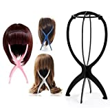 4pz pieghevole plastica parrucca capelli cappello del supporto strumento di visualizzazione parrucca asciugatrice