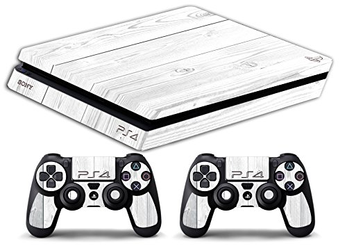 skin-ps4-slim-legno-bianco-wood-white-texture-limited-edition-decal-cover-adesiva-playstation-4-slim