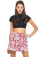 Motel Women's Annie A-Line Floral Skirt