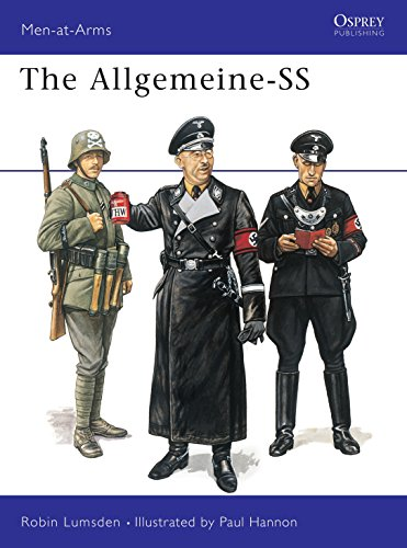 The Allgemeine-SS (Men-at-Arms, Band 266) -