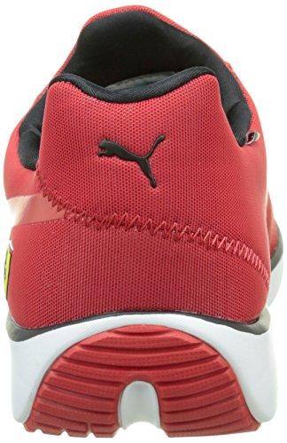 Puma Disc Sf, Baskets Basses mixte adulte Rouge (Rosso Corsa/Black)