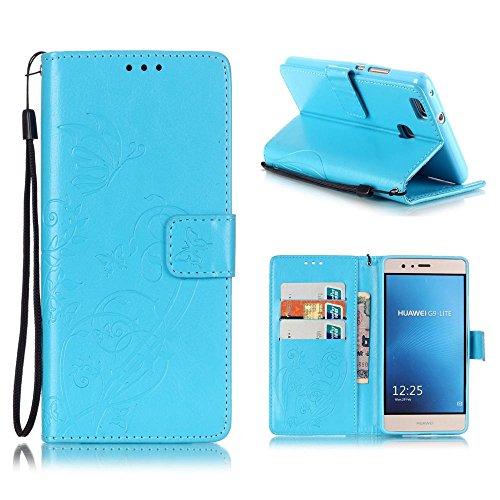 KATUMO® Funda para Huawei P9 Lite Carcasa, Buena Funda Cuero Cubierta para Huawei P9 Lite/Huawei G9 Lite 5.2