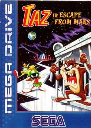 taz-in-escape-from-mars-mega-drive