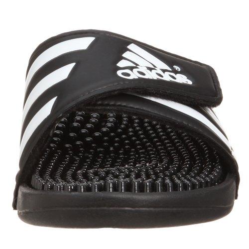 adidas Damen Adissage Badeschuhe Schwarz (Black/Black/Running White Footwear)