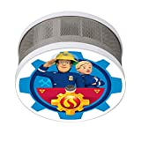 Smartwares FSM-16401 FSM-164 Sam & Penny Mini Rauchwarnmelder/Feuerwehrmann Sam/Rauchmelder für Das Kinderzimmer/10 Jahres melder/Maße Nur 75 x 35 mm/VDs und Q-Zertifiziert