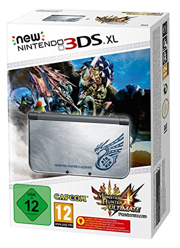 Nintendo 3DS XL Monster Hunter 4 Ultimate Limited Edition European Version