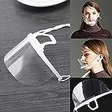 B5645ellsTransparent Food Cooking Gesundheitswesen Hygienische Anti Fog Shield Mundschutzmaske